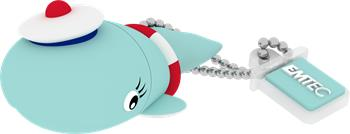 Flashdisk EMTEC M337 Sailor Whale 8GB USB 2.0