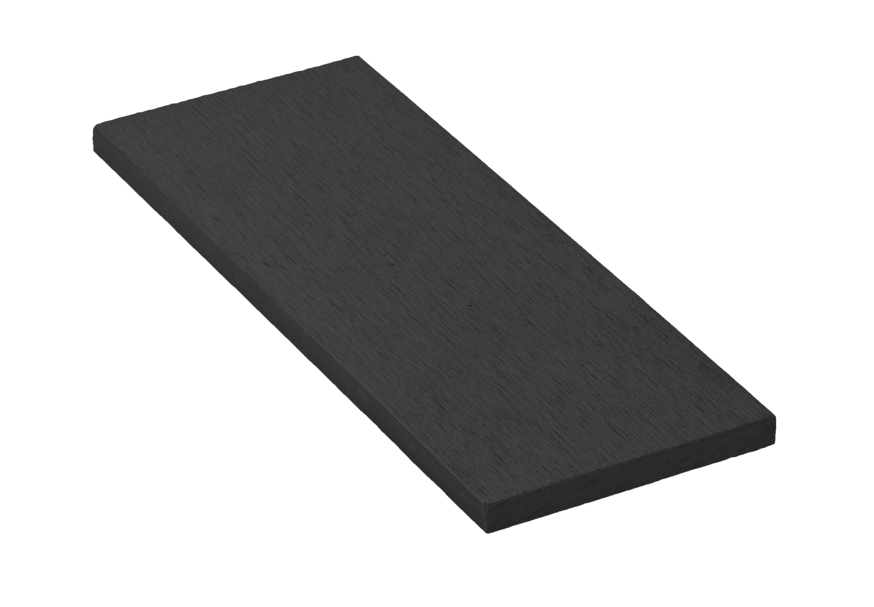 Zakončovácí lišta G21 Eben plochá 0,9 x 9 x 200 cm, mat. WPC