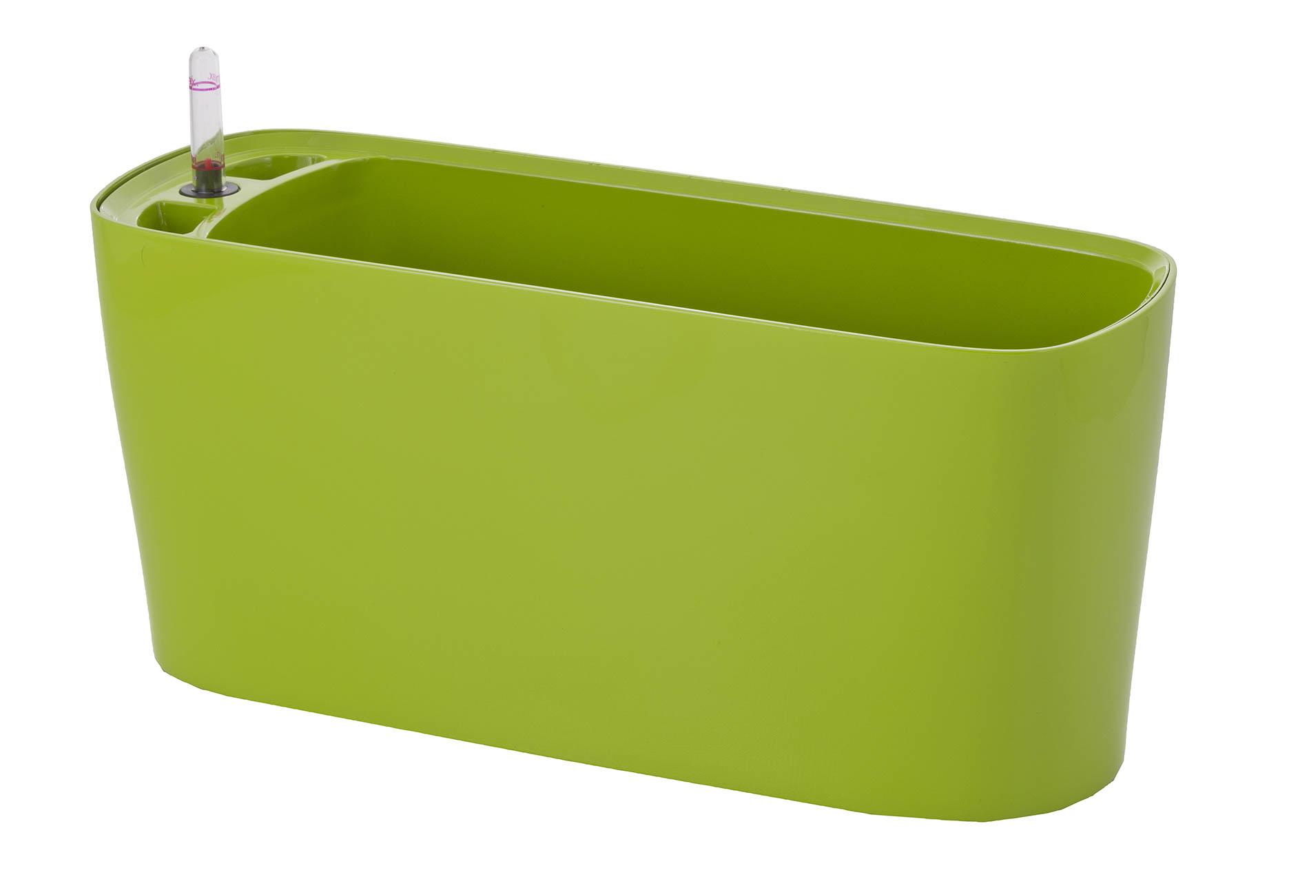 Samozavlažovací květináč G21 Combi mini zelený 40 cm