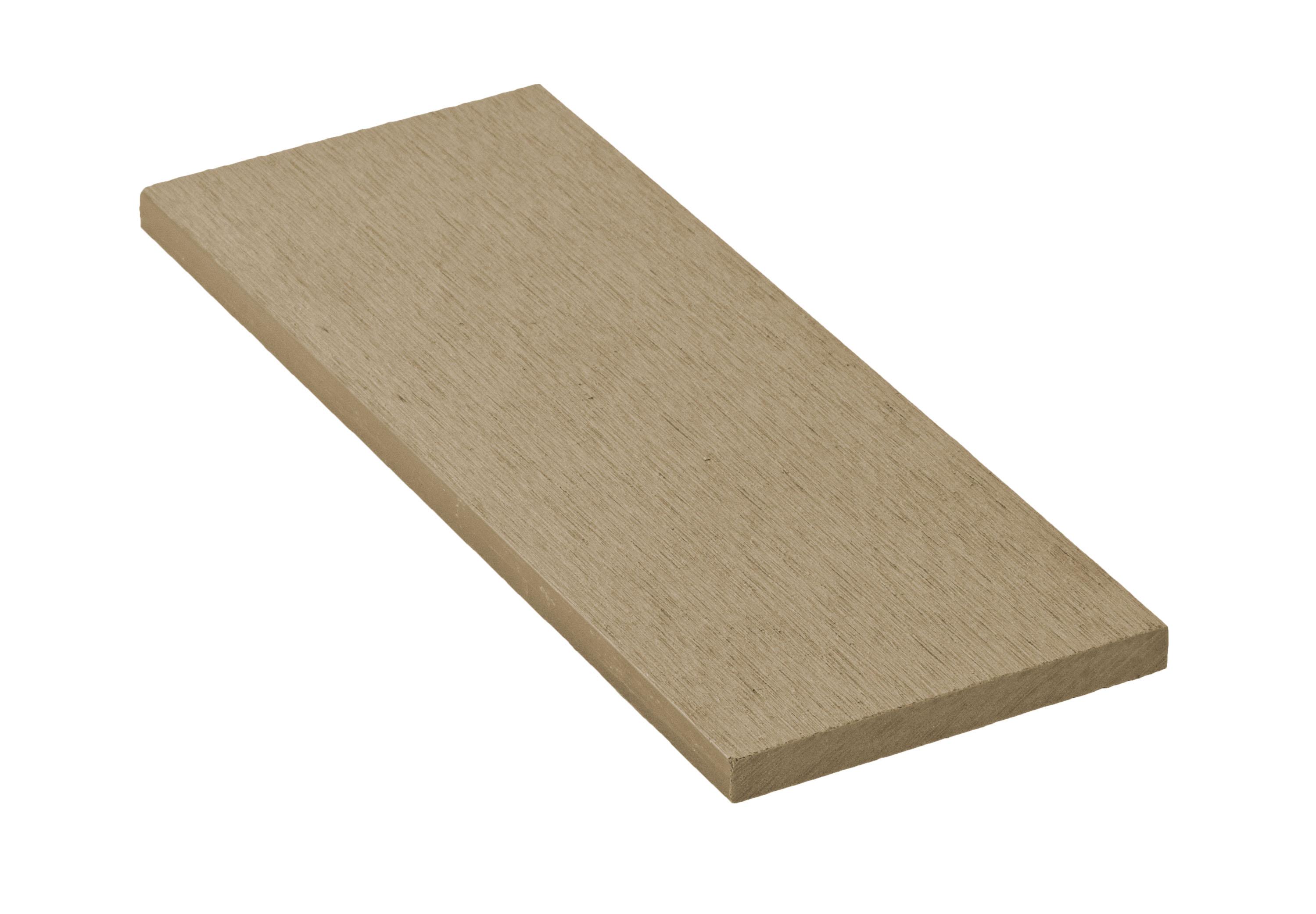 Zakončovácí lišta G21 Cumaru plochá 0,9 x 9 x 200 cm, mat. WPC