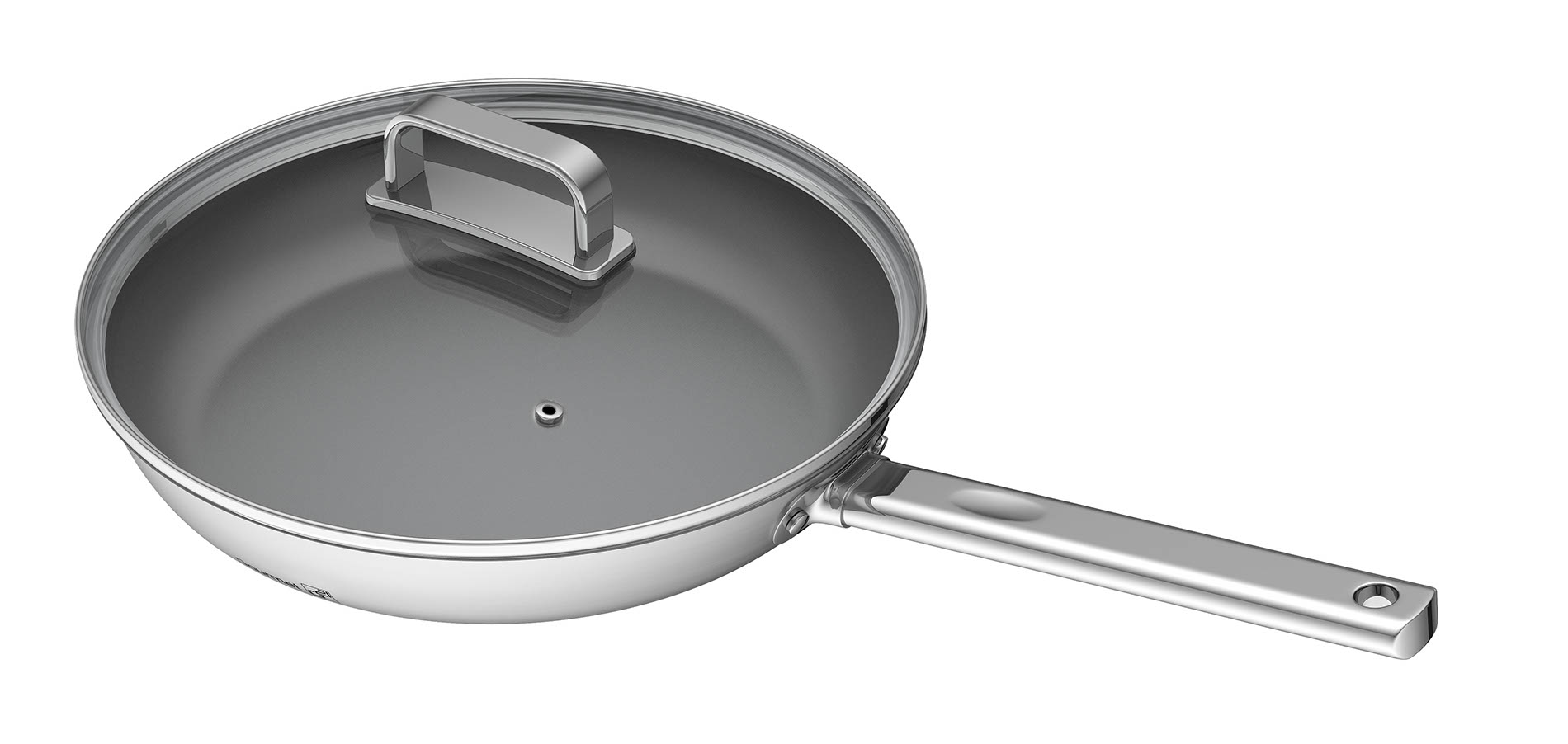 Pánev G21 Gourmet Magic 28 cm s poklicí, nerez