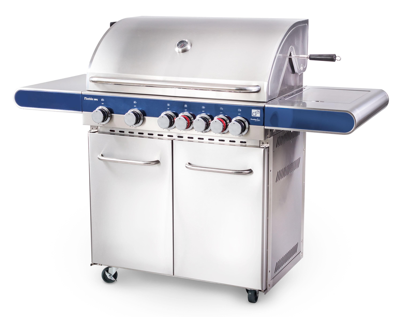 Plynový gril G21 Florida BBQ Premium line, 7 hořáků + zdarma redukční ventil