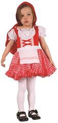 Karnevalový kostým Červená karkulka 92 - 104cm