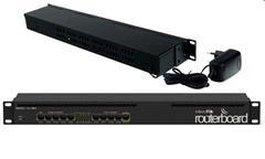 RouterBoard Mikrotik RB2011iL-RM 5x Gbit LAN, 5x 100 Mbit LAN, do racku, L4