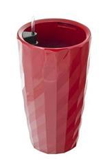 Samozavlažovací květináč G21 Diamant červený 57 cm