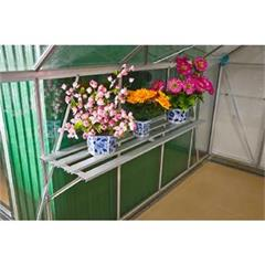 Police do skleníku závěsná, 128 x 35 x 30 cm