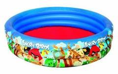 Bazén Bestway Angry Birds - nafukovací,  průměr 152cm, hloubka 30cm