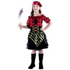 Karnevalový kostým Pirátka 110 - 120cm