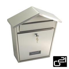 Schránka poštovní G21 LORI 355x375x135 nerez