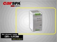 Zdroj Carspa DR-120-12 průmyslový na DIN lištu 120W, 12V