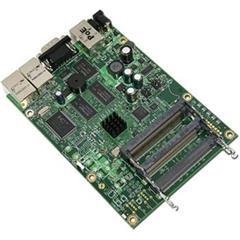 RouterBoard Mikrotik RB433AH v2 3xLAN a 3x miniPCI (680 MHz) Level5
