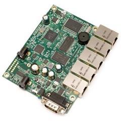 RouterBoard Mikrotik RB450 Atheros 300Mhz, 32MB RAM, 5x LAN, OSL5