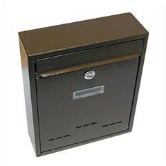 Schránka poštovní G21 RADIM malá 310 x 260 x 90 mm hnědá