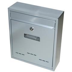 Schránka poštovní G21 RADIM malá 310 x 260 x 90 mm šedá