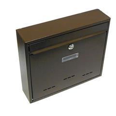 Schránka poštovní G21 RADIM velká 310 x 360 x 90 mm hnědá