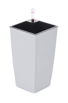 Samozavlažovací květináč G21 Linea mini bílý 26 cm