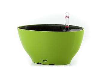 Samozavlažovací květináč G21 Ring big zelený 22 cm