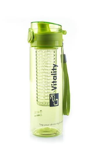 Láhev G21 na smoothie/juice, 600 ml, zelená