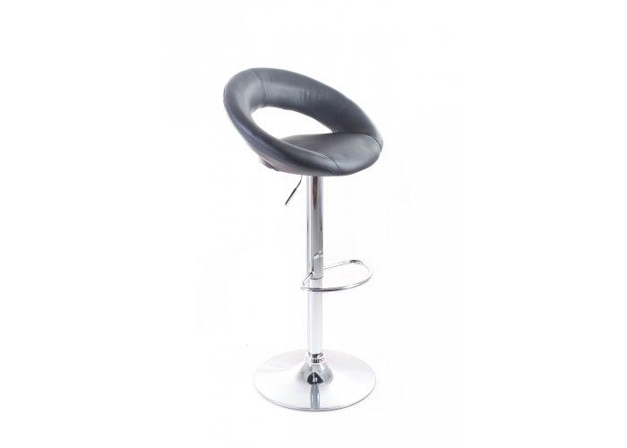 Barová židle G21 Orbita koženková black