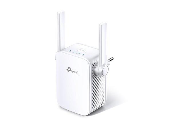 WiFi router TP-Link RE305 AP/Extender/Repeater AC1200 300Mbps 2,4GHz a 867Mbps 5GHz , 1x LAN, fixní anténa