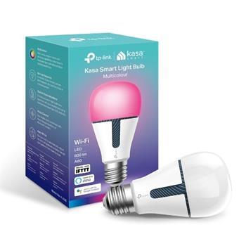 Chytrá žárovka TP-Link KL130 E27, 10W, 230V, přes IP, stmívatelná, RGB, 2500K-9000K