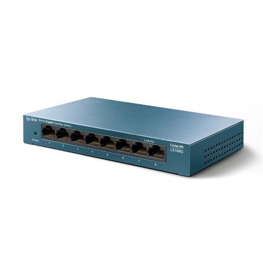 Switch TP-Link LS108G 8x GLan, kov