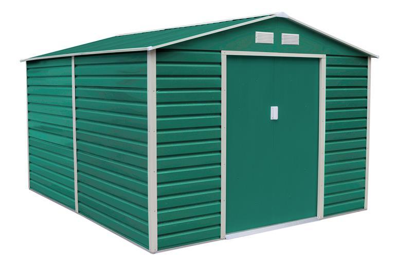 Zahradní domek G21 GAH 1085 - 340 x 319 cm, zelený