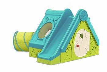 Dětské hřiště Keter FUNTIVITY PLAYHOUSE zelené / modré