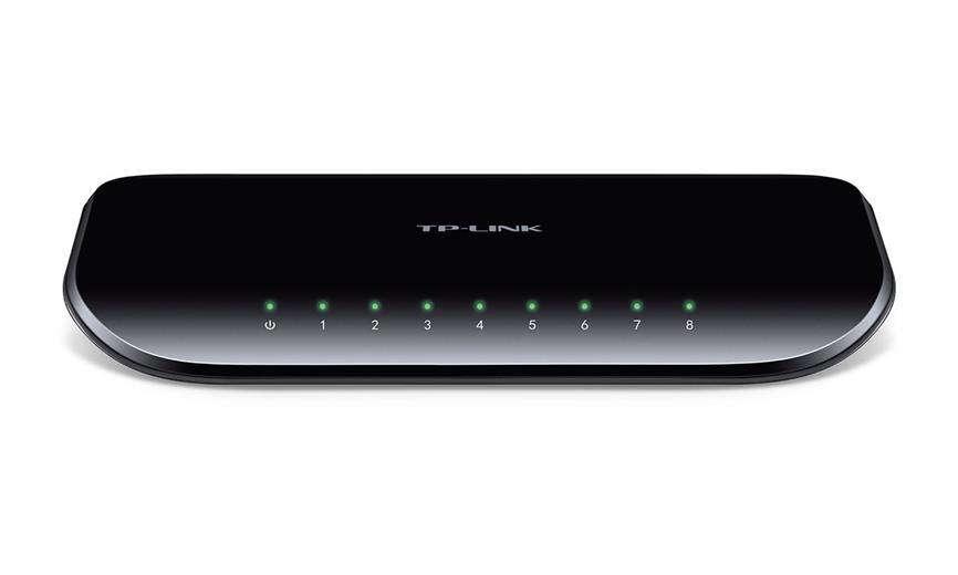 Switch TP-Link TL-SG1008D 8x GLan, desktop, plast