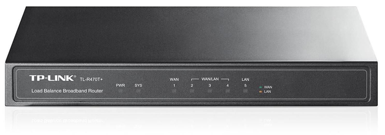 Router TP-Link TL-R470T+ 5-port Multi-Wan, 4xWAN