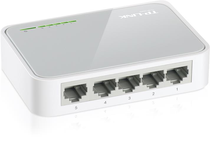 Switch TP-Link TL-SF1005D 5xLAN, plast
