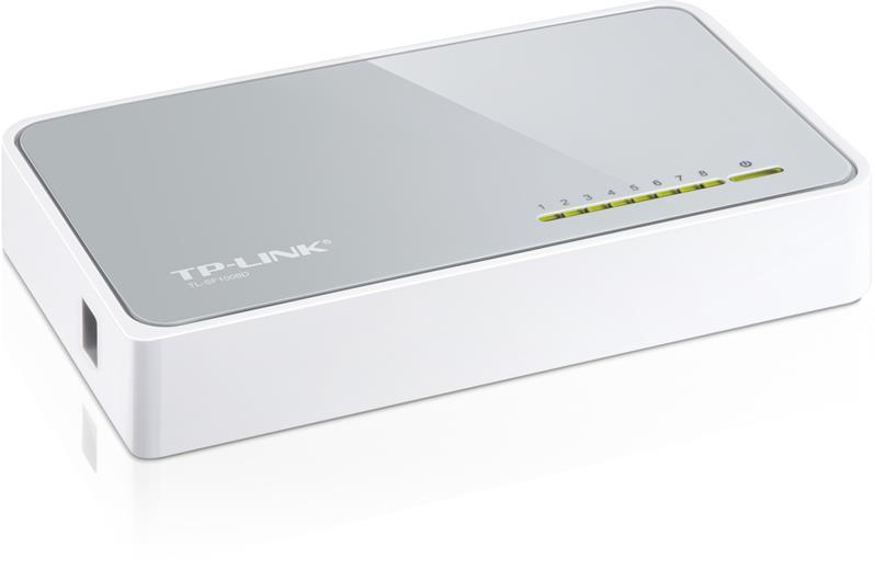 Switch TP-Link TL-SF1008D switch 8xTP/1uplink 10/100Mbps