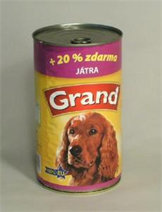 Konzerva Grand pes s j�try 1150g
