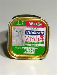 Konzerva Vitakraft Cat Vita L. In& Outdoor - Adult 100g