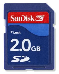 Pam�ov� karta Sandisk Secure Digital Card 2GB